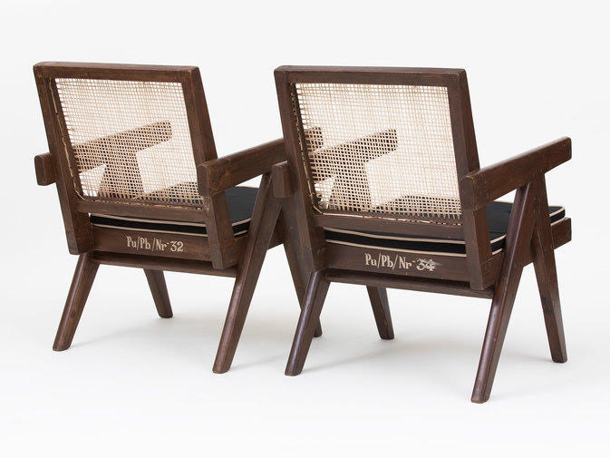 Pierre Jeanneret Low Lounge Chairs PJ-SI-29-A, image 1