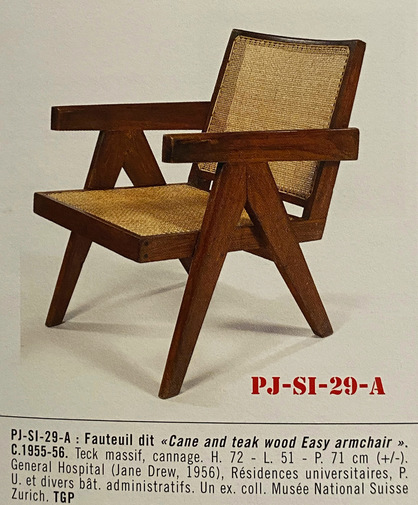 Pierre Jeanneret Low Lounge Chairs PJ-SI-29-A, image 4