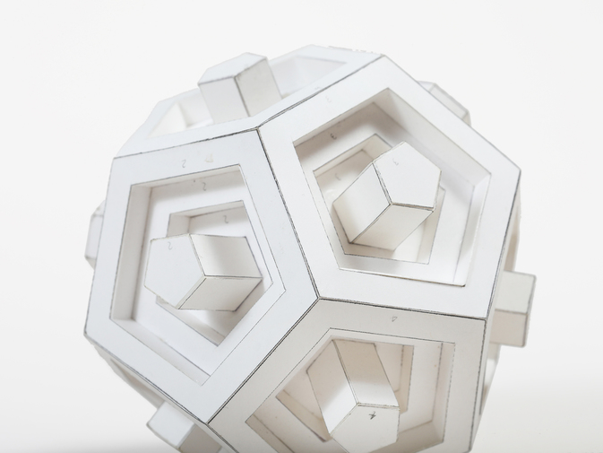 "Chris Beeston ""Dodecahedron"", image 3"