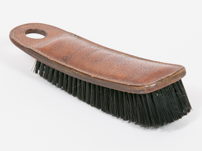 Carl Auböck Leather Clothes Brush, image 1