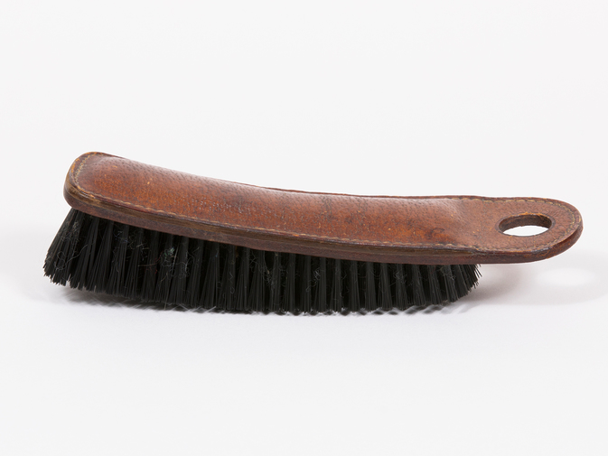 Carl Auböck Leather Clothes Brush, image 2