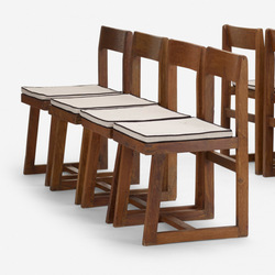 Tile set of 8 box chairs